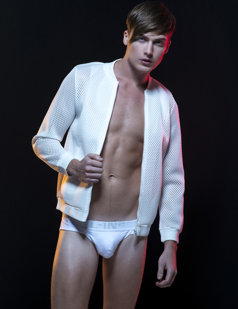 The new Underwear series with James Ford from DIVA Models shot by Singapore based photographer Juliana Soo.