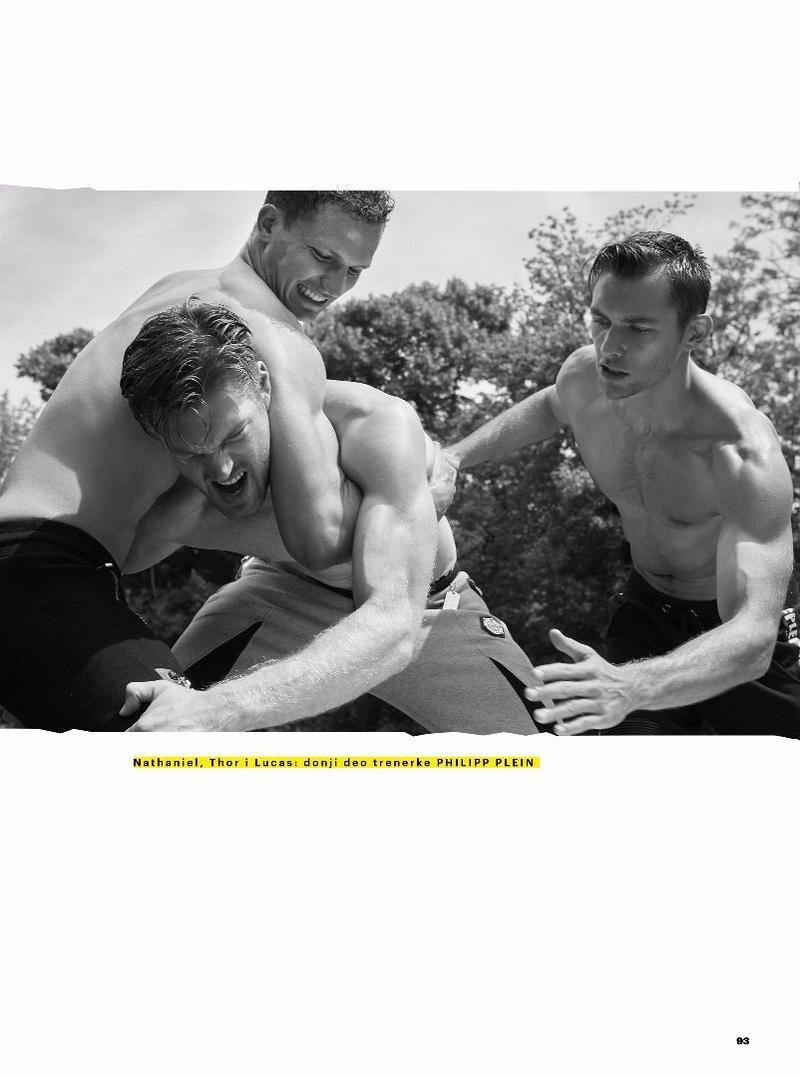 Nathaniel Visser,Adrian Cardoso, Thor Henriksen -Lucas Garcez BY Fabrizio Scarpa FOR Esquire Serbia (3)