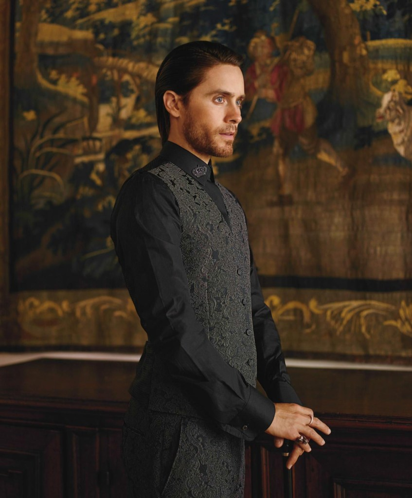 Jared Leto photographed by Thomas Whiteside for GQStyle