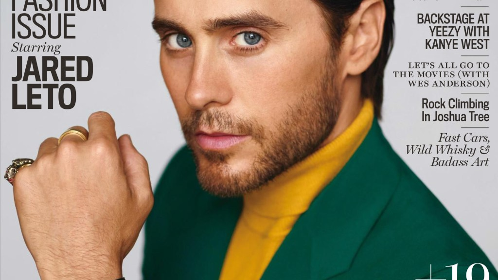 US GQ Style Fall 2016 : Jared Leto by Thomas Whiteside. But this is quite possibly the best I've seen from actor Jared Leto. Very mature, neat and good colour pairing. It could almost be a watch campaign shot. The editorial looks a bit sanitized, but this is true to Thomas Whiteside's style, who's oddly enough deep in bed with Time Inc.