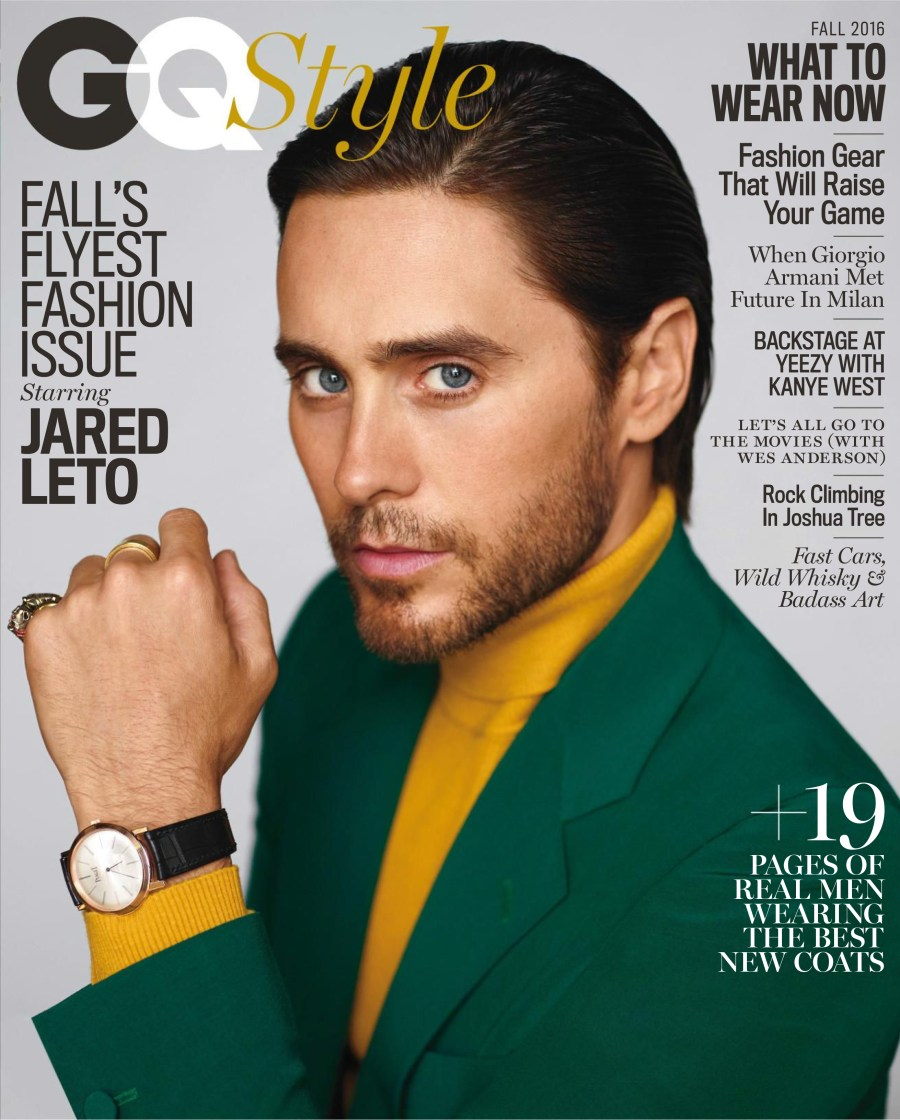 Falls Flyest Fashion Issue starring Jared Leto