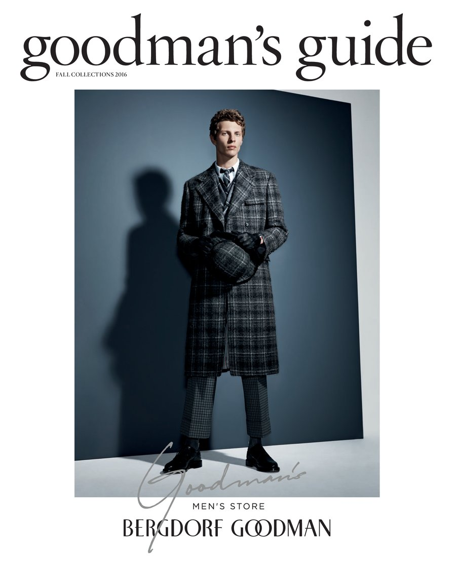 "Always in good style and impeccably wadrobe, they will lead you, here's Bergdorf Goodman ""Goodman's Guide"" Fall Collection 2016."