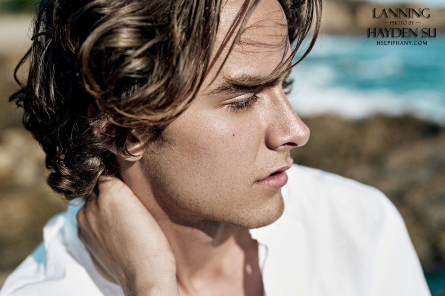 Nobody is like Derick Lanning by Hayden Su. Derick is a true California boy, fearless, lively, eager to try new things. He's fairly new to modeling and have quickly found passion in it. He loves being in front of the lens and very nature with expression and poses.