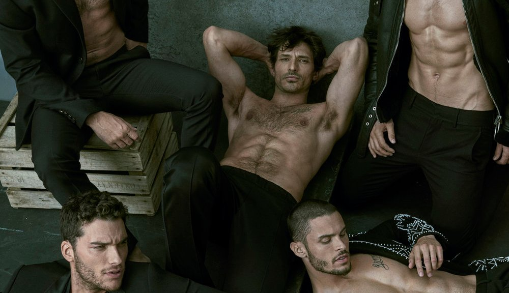 GQ Australia presents 'Big style Issue' with sexy boys by Mariano Vivanco