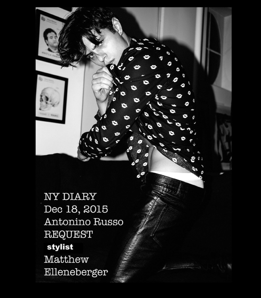This special digital edition only will not be available in print. Since October last year, NY photographer Joseph Lally photographed 36 models for this, his NY diary.