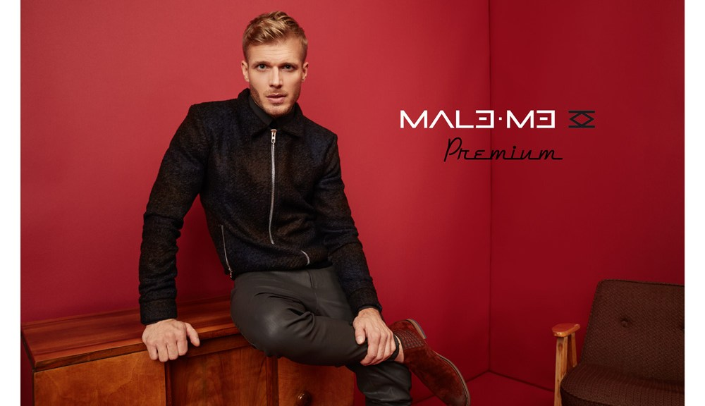 All about Polish Actor Tomasz Ciachorowski fronts new ads MALE ME Premium – A/W 2016/17 shot by Wojciech Jachyra, style by Paulina Leszczyk.