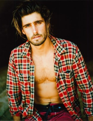 The Ultimate Guide to Shot Long Hair Model features Alex Libby