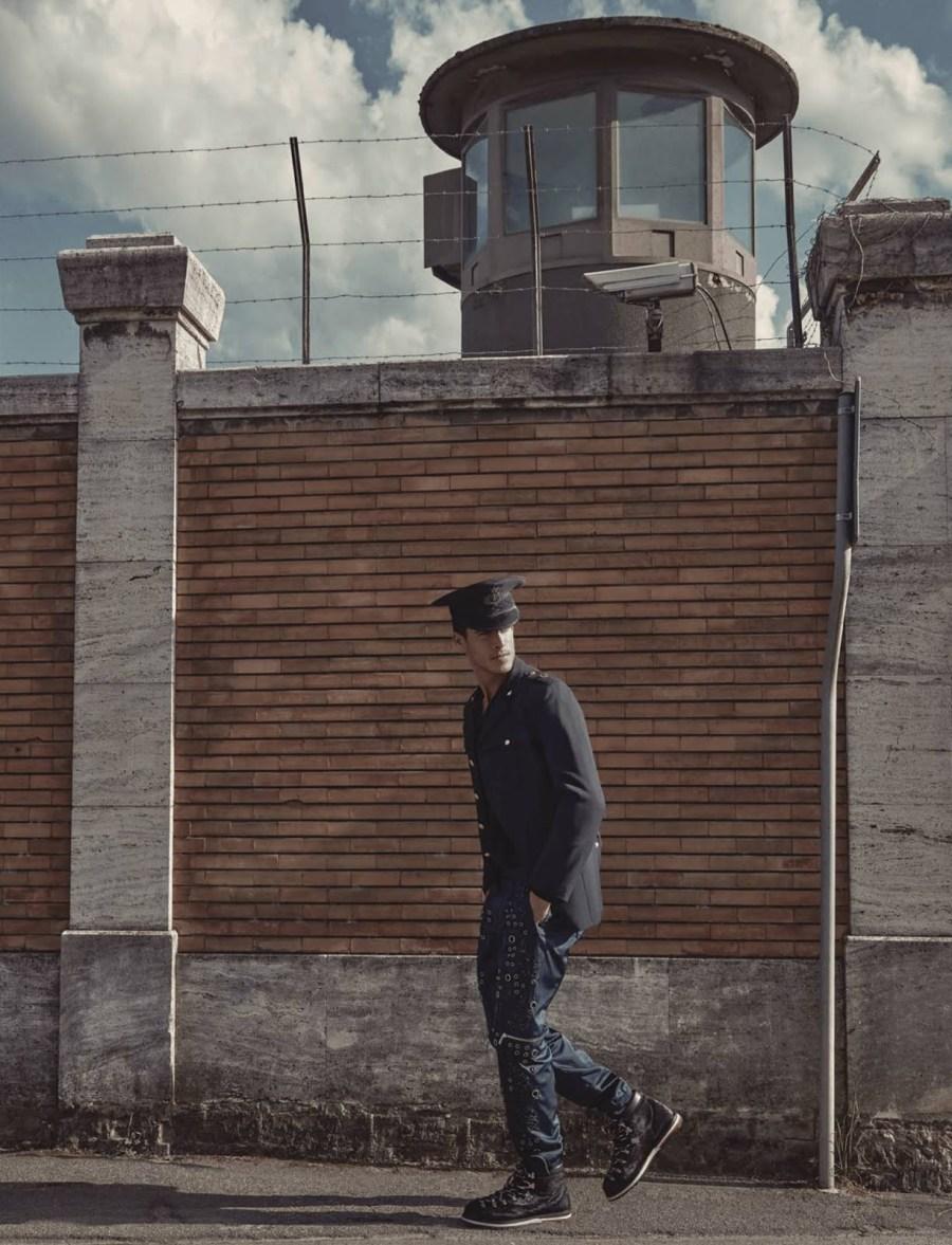 Never forget and never again -Contemplation: a new story available for August Man Malaysia September 2016, stars Tomas Skoloudik, Cristi Isofii, Jorrit Berndsen, Liuk Bass and Oran Katan.