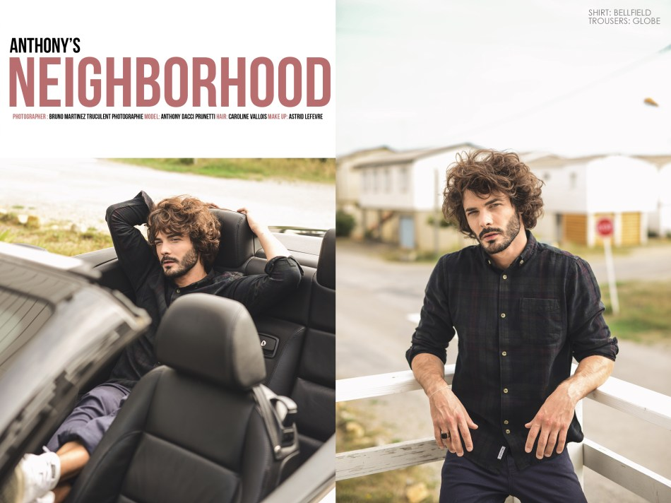 Let's discover: Anthony's Neighborhood work by Bruno Martinez