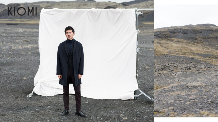 Great professionalism ads pictures model Daisuke Ueda fronts the new Kiomi Fall/Winter 2016-2017. Stunning photography by Markus Pritzi.