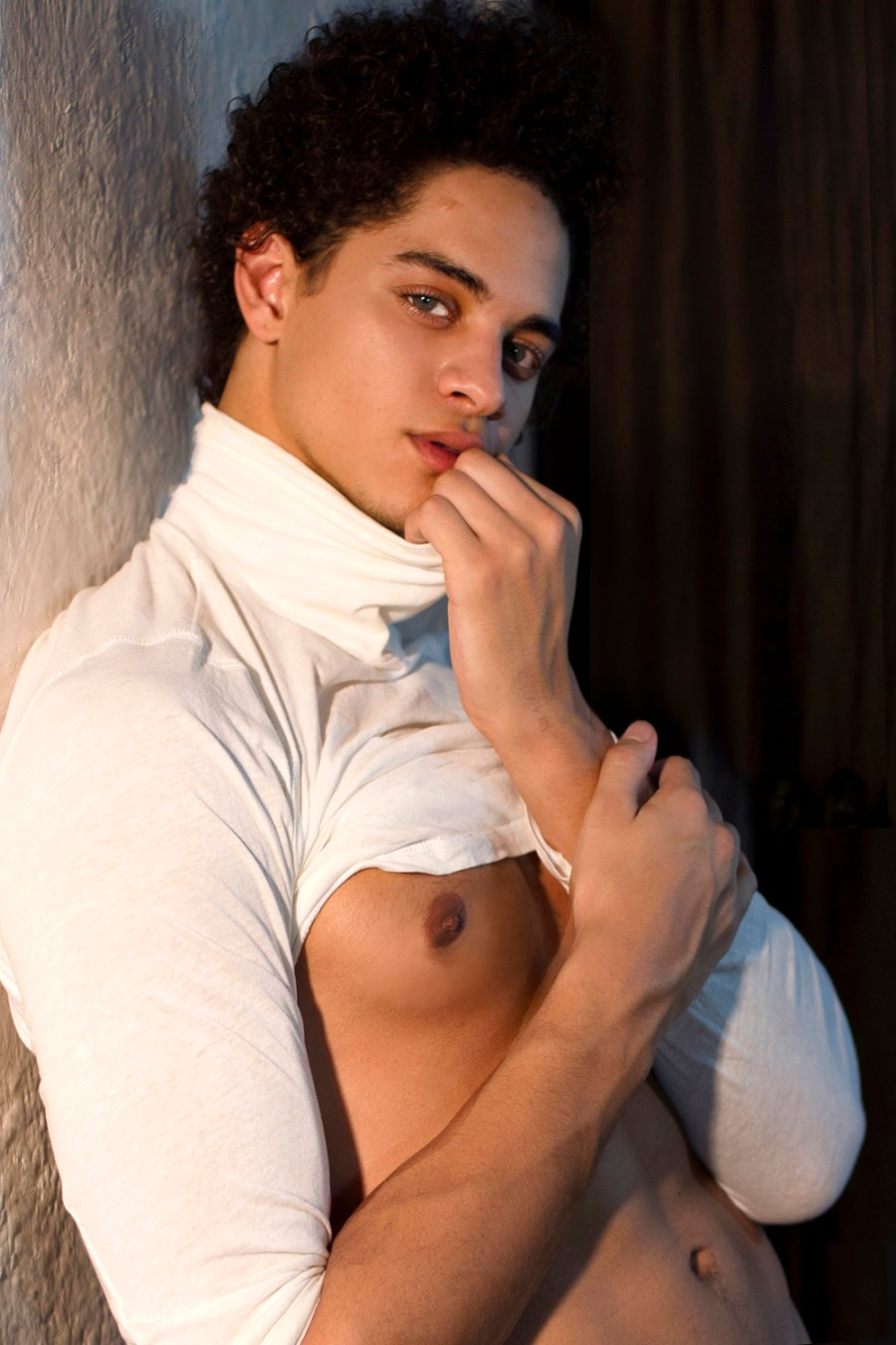 """To B or Not To Be, That Is The Question this famous Opening phrase of a soliloquy spoken by Prince Hamlet in the so-called """"nunnery scene"""" of William Shakespeare's play Hamlet inspired by fashion photographer Joseph Bleu collaborating with fitness athlete Jon Reneau."""