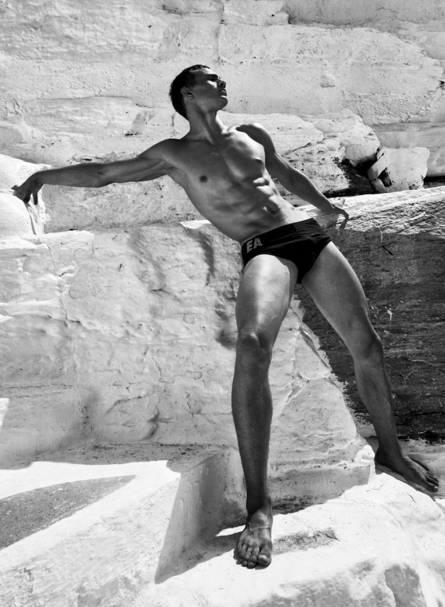 Julian Schneyder delighted us with new shots by Kosmas Pavlos for Models.com