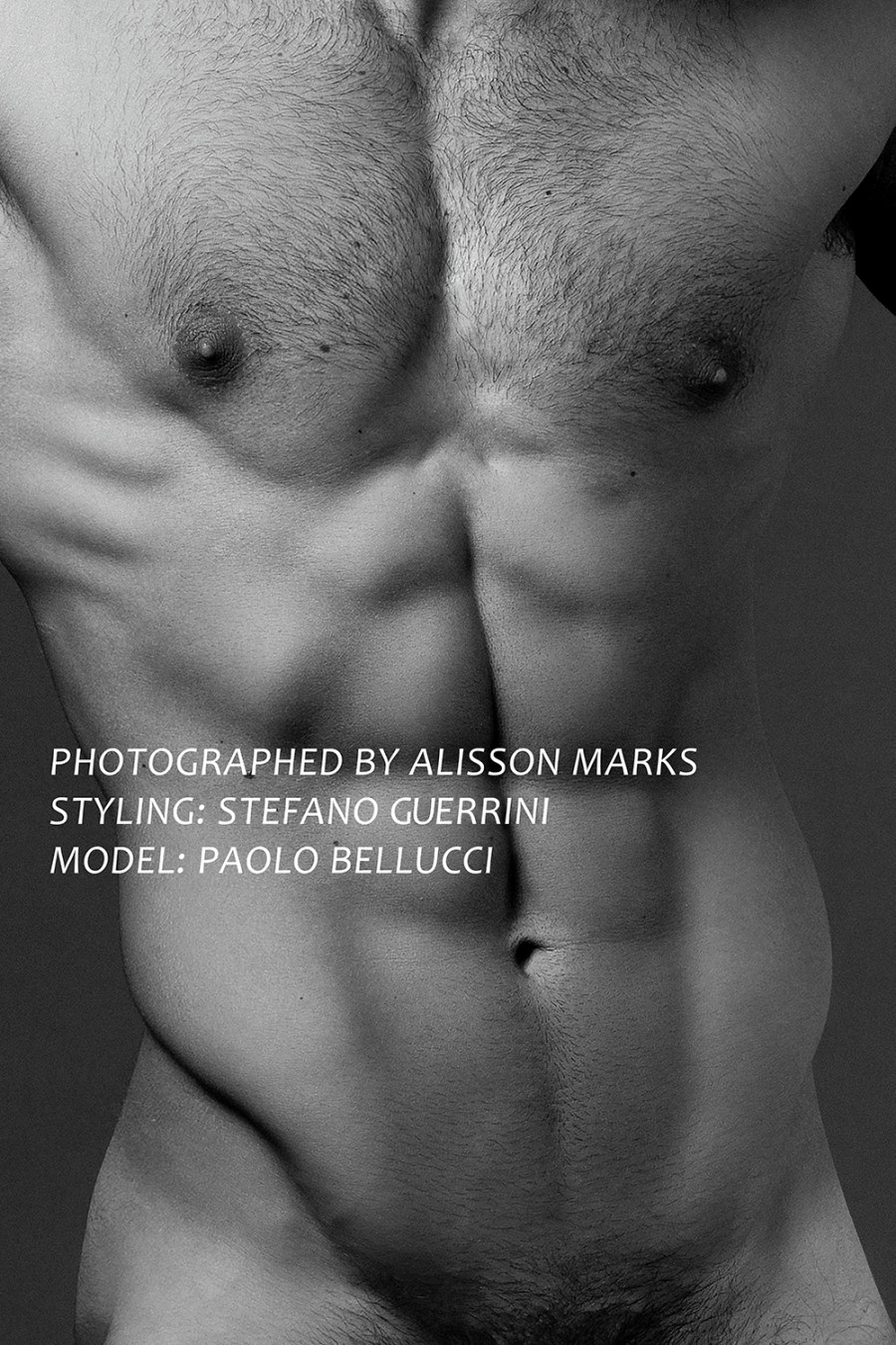 Italian new hunk Paolo Bellucci get 'bodylicius' by Alisson Marks and magical touch by stylist Stefan Guerrini in new sexy and splendid body shots. With more than 91K IG followers, (and counting) the segmental, the sexy stallion involved now in fashion work wearing pieces from head to toe, Dirk Bikkembergs, Les Hommes, Modus Vivendi, Christian Pellizzari among others. Alisson is used to work with strong fit European bodies like this, but I think with Paolo is a one big exception, he's a real hunk!