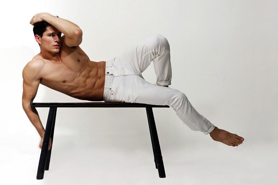 Meet Shirtless New talent Alex Vega by Karim Konrad - Exclusive