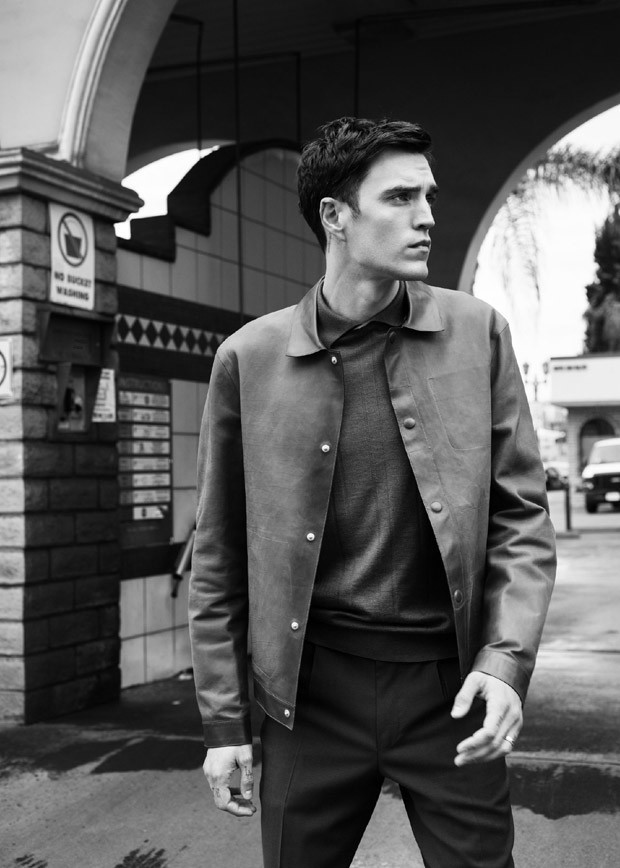 Josh Beech covers GQ Style Russia March 20178