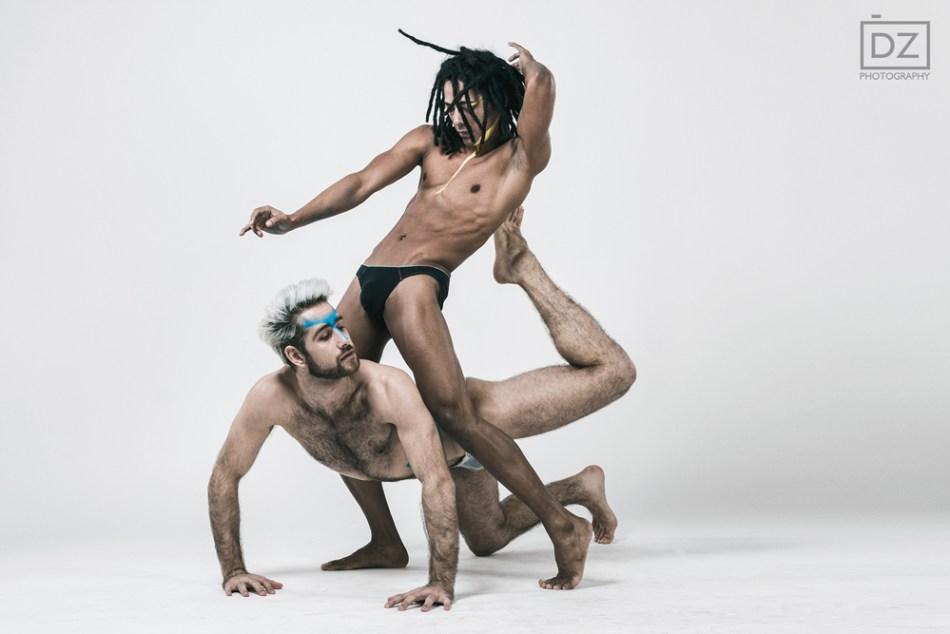 Bodies in motion Abel and Juan from the Šokio Teatras Aura5