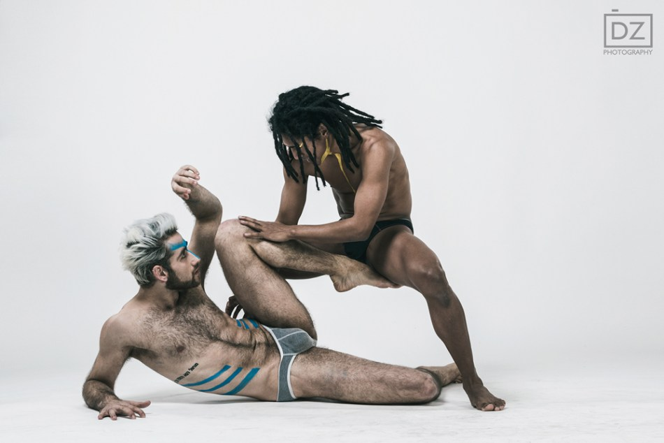 Bodies in motion Abel and Juan from the Šokio Teatras Aura7