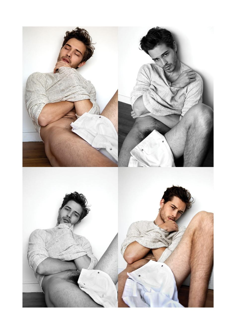 Francisco Lachowski by Karl Simone for Yearbook Fanzine8