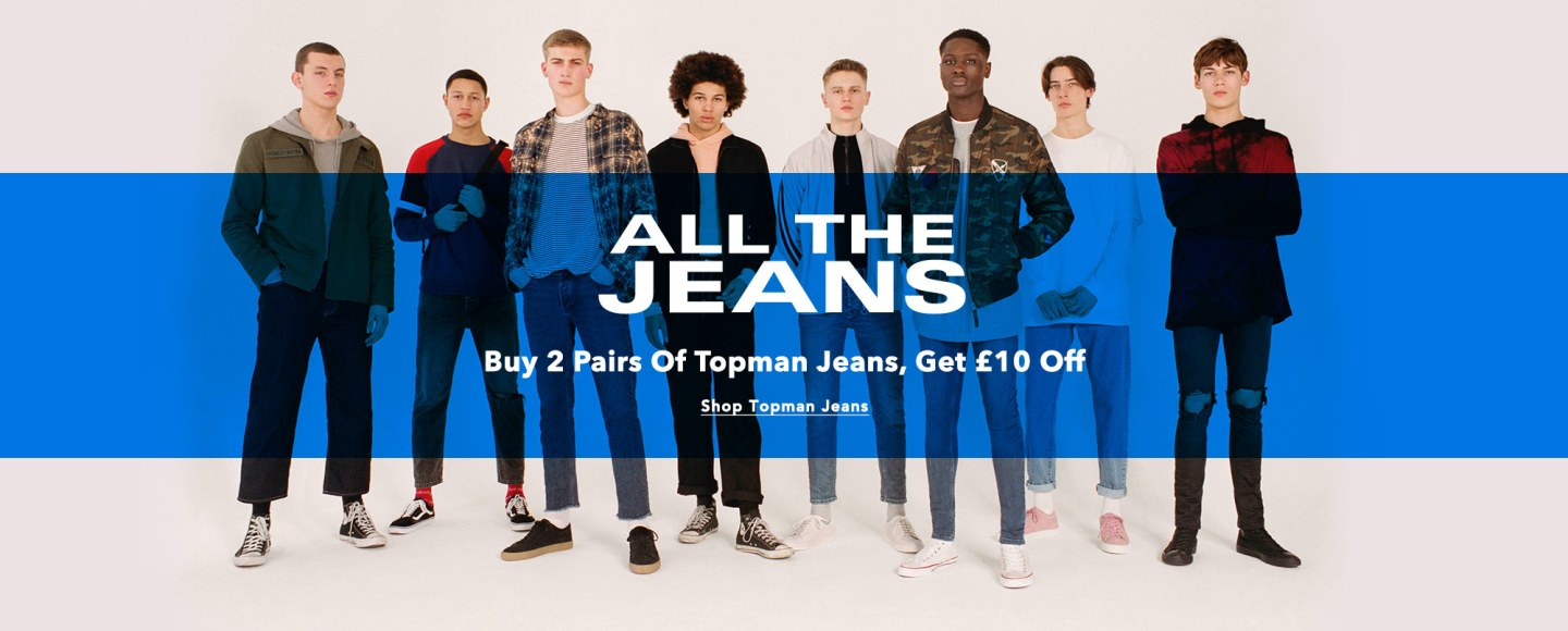 Can't make up your mind? Delving into a new denim? Check out our pair & a spare offer: