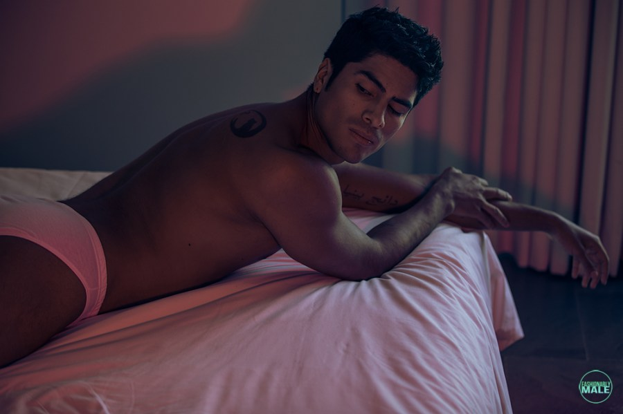 Dany Peña by Angel Ruiz for Fashionably Male2