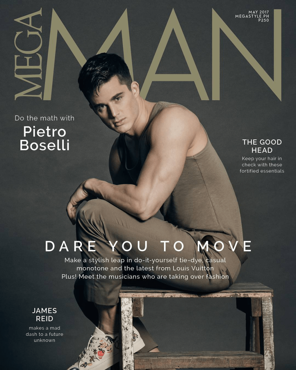 Pietro Boselli Mega Man June 2017 by Jerik Sanchez Cover