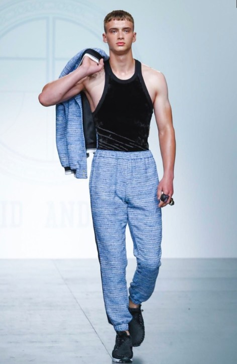 ASTRID ANDERSEN MENSWEAR SPRING SUMMER 2018 LONDON14