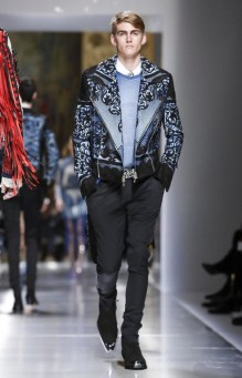 BALMAIN MENSWEAR SPRING SUMMER 2018 PARIS11