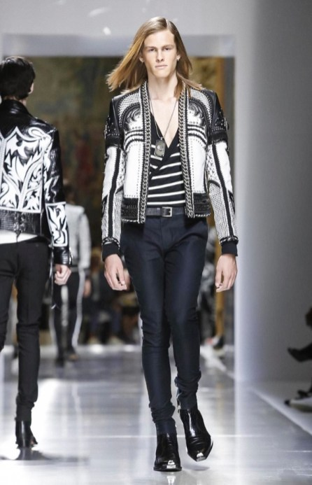 BALMAIN MENSWEAR SPRING SUMMER 2018 PARIS52