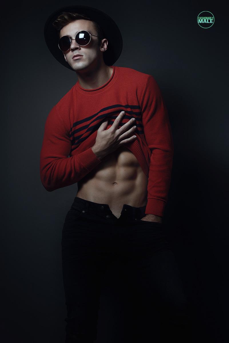 Bradley B. by Armando Adajar for Fashionably Male4