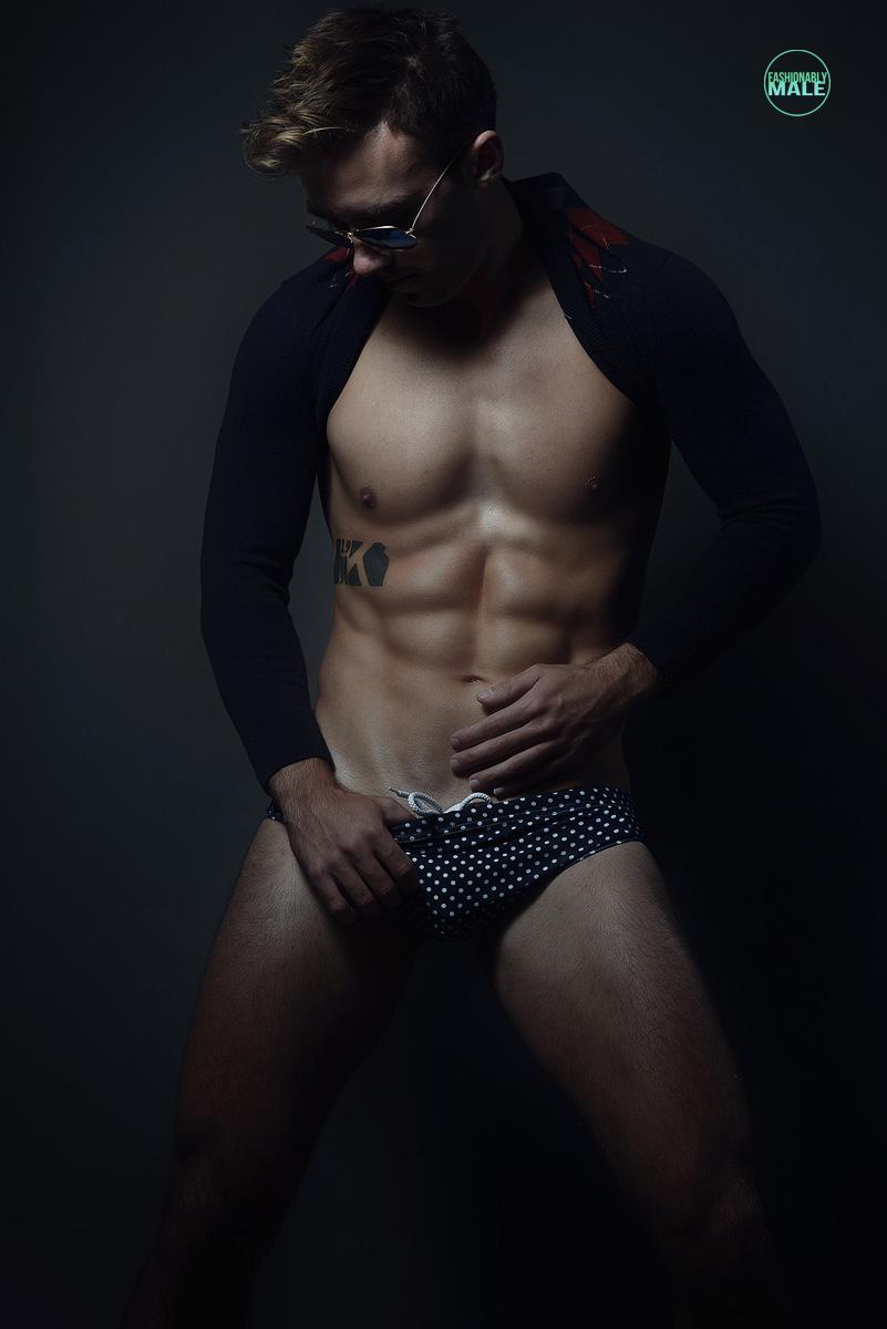 Bradley B. by Armando Adajar for Fashionably Male6