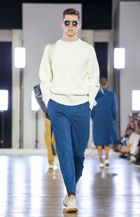 CERRUTI MENSWEAR SPRING SUMMER 2018 PARIS13