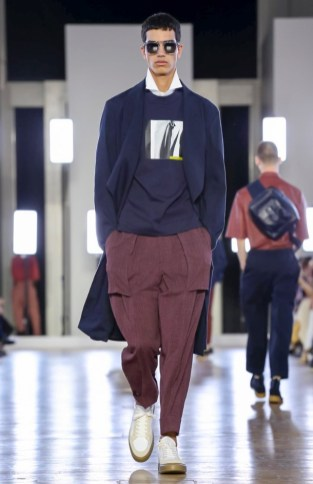CERRUTI MENSWEAR SPRING SUMMER 2018 PARIS19