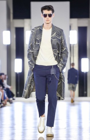 CERRUTI MENSWEAR SPRING SUMMER 2018 PARIS45