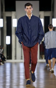 CERRUTI MENSWEAR SPRING SUMMER 2018 PARIS8