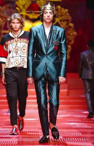6bace5e2fdf Dolce   Gabbana Spring Summer 2018 Milan - Fashionably Male