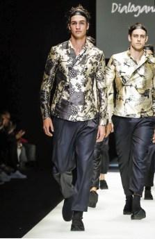 EMPORIO ARMANI MENSWEAR SPRING SUMMER 2018 MILAN5