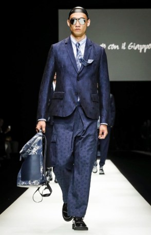 EMPORIO ARMANI MENSWEAR SPRING SUMMER 2018 MILAN71