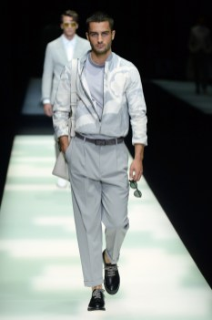Giorgio Armani Men's Spring 2018