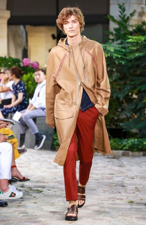 HERMES MENSWEAR SPRING SUMMER 2018 PARIS26