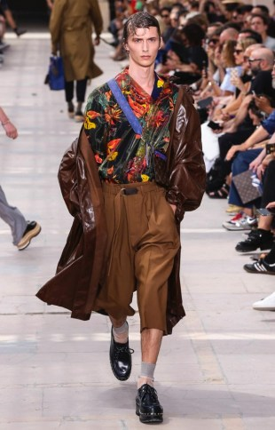 LOUIS VUITTON MENSWEAR SPRING SUMMER 2018 PARIS6