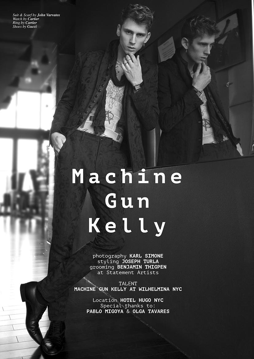 Machine Gun Kelly by Karl Simone1