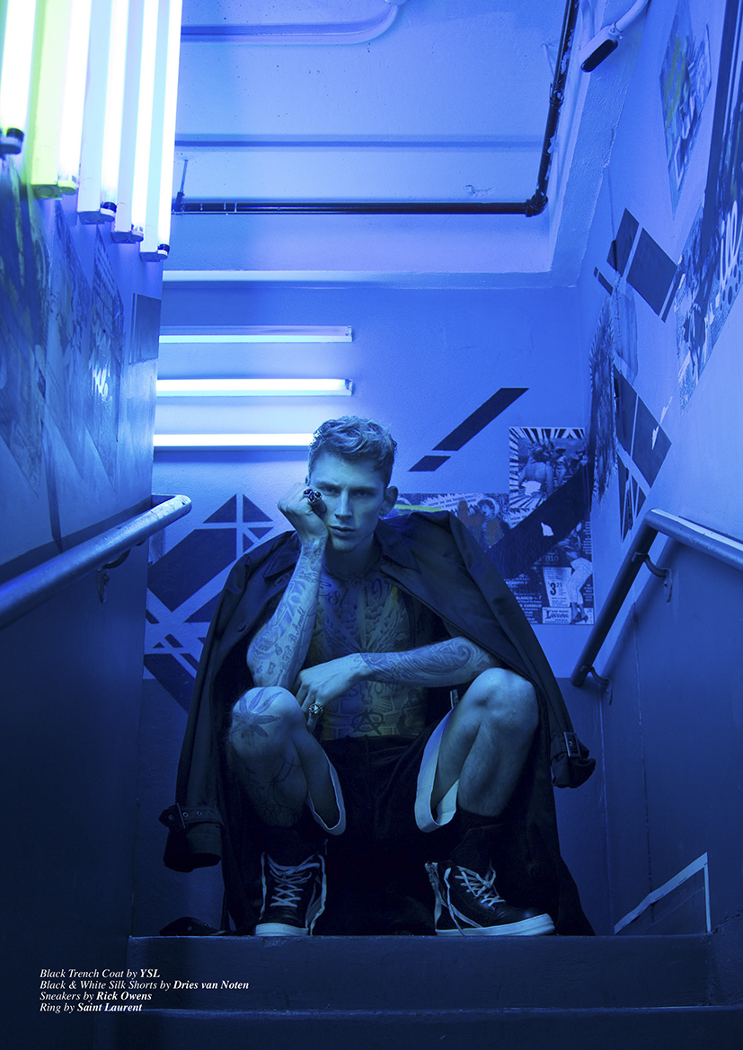 Machine Gun Kelly by Karl Simone8