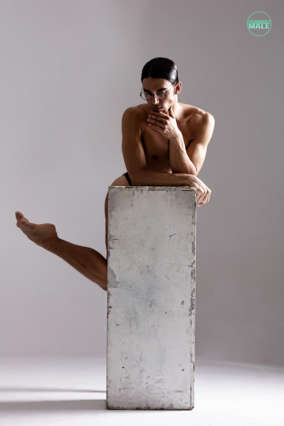 Mihael Belilov by Joan Crisol for Fashionably Male5
