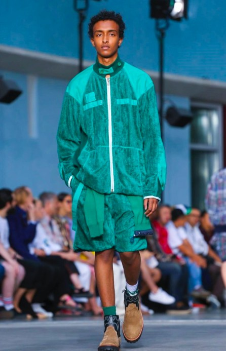 SACAI MENSWEAR SPRING SUMMER 2018 PARIS