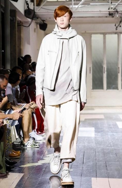 YOHJI YAMAMOTO MENSWEAR SPRING SUMMER 2018 PARIS13