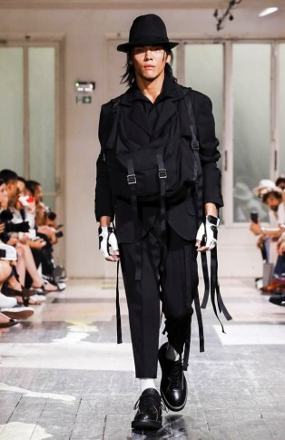 YOHJI YAMAMOTO MENSWEAR SPRING SUMMER 2018 PARIS19