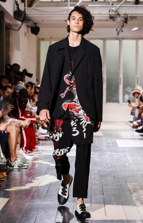 YOHJI YAMAMOTO MENSWEAR SPRING SUMMER 2018 PARIS26