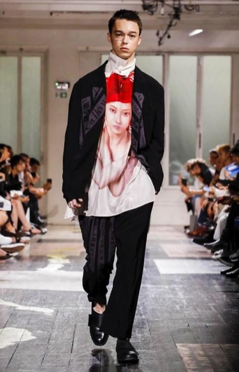 YOHJI YAMAMOTO MENSWEAR SPRING SUMMER 2018 PARIS27