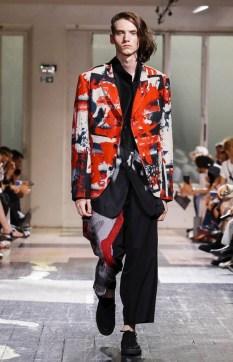 YOHJI YAMAMOTO MENSWEAR SPRING SUMMER 2018 PARIS3