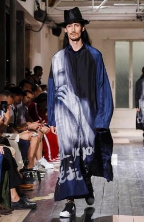 YOHJI YAMAMOTO MENSWEAR SPRING SUMMER 2018 PARIS33